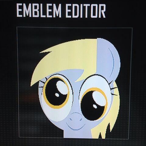 File:FANMADE Derpy Hooves Black Ops 2 Emblem v2.jpg