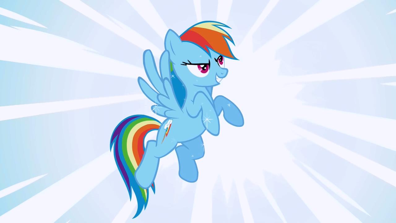 Rainbow Dash Wonderbolt fantasy S1E3.png