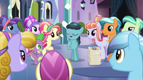 Crystal Hoof is the center of attention S6E16