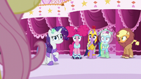 Main five see Fluttershy step out S5E21
