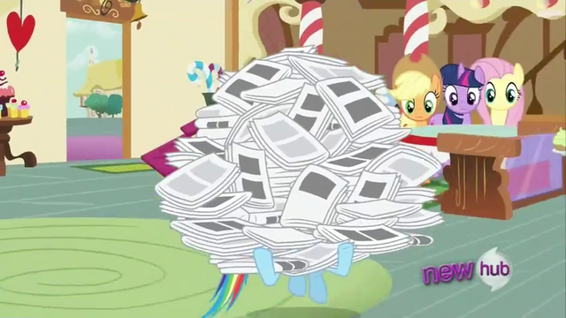 File:Rainbow Dash carrying papers S2E23.png
