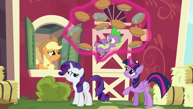 """File:Spike """"totally got everything covered"""" S6E10.png"""