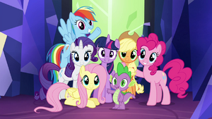 Twilight's Kingdom final group shot S4E26