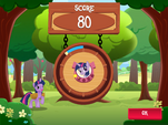 Collecting apples minigame score MLP Game