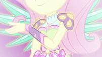Fluttershy in her Crystal Wings form EG4