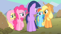 Main ponies whats Spike planning S01E19