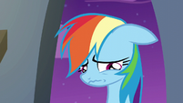 Rainbow Dash feeling depressed S6E7