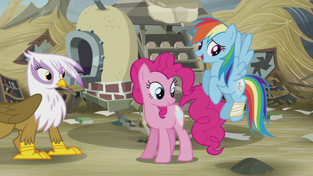 File:Rainbow and Pinkie's cutie marks glow again S5E8.png