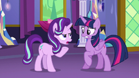 "Starlight Glimmer ""you did say anypony"" S6E6"