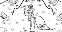 Twilight Sparkle color-in image