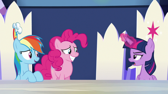 "File:Twilight Sparkle unamused ""not really"" S6E15.png"