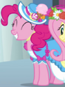 Pinkie Pie coronation dress ID S3E13