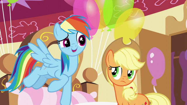 "File:Rainbow ""Pinkie Pie's tougher than she looks"" S5E11.png"