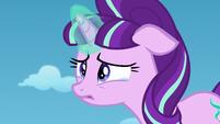 Starlight teary-eyed listening to Twilight S5E26