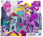 Crystal Princess Celebration Twilight Sparkle and Rainbow Dash