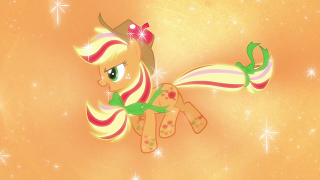 File:Applejack's Rainbow Power form S4E26.png