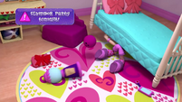 Pinkie searches for something under her bed EGM1