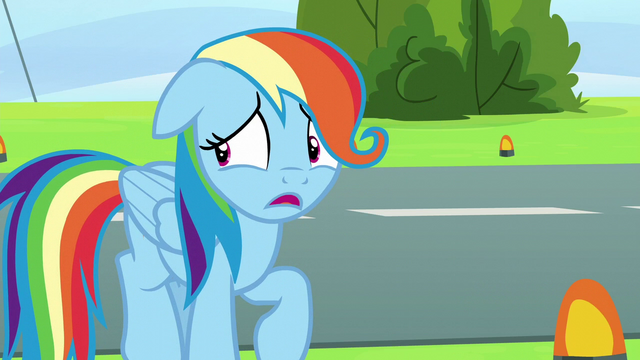 "File:Rainbow Dash ""I can just come back later"" S6E7.png"