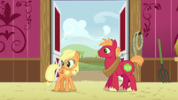 Applejack and Big McIntosh hear Granny Smith S6E23