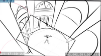 EG3 animatic - Overhead shot of Twilight singing