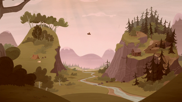 File:Grub and Piles settle halfway up the mountains S5E23.png