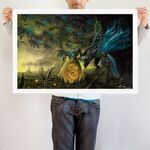 Chrysalis the Dark Queen art print WeLoveFine