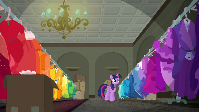 File:Twilight organizes Rarity's dresses by color S6E9.png