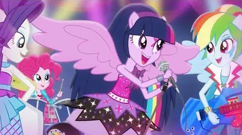 -Turkish- Equestria Girls Rainbow Rocks - Shake Your Tail -HD-