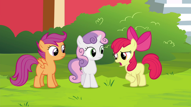 "File:Apple Bloom ""invitin' two ponies to Twilight Time"" S4E15.png"