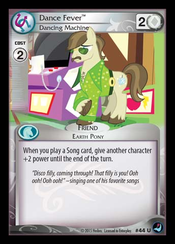 File:Dance Fever, Dancing Machine card MLP CCG.jpg