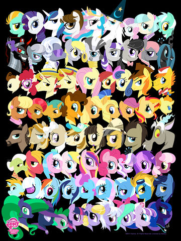 File:My Little Pony Acidfree art print.jpg