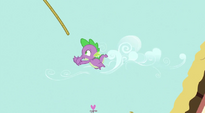 Spike misses rope S3E09