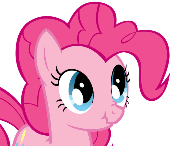 File:FANMADE Pinkie Pie Scrunched Face.png