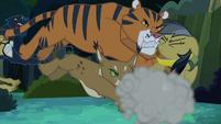 Jungle cats tackle Daring Do S4E04