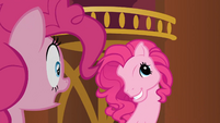 Clone Pinkie Pie making G3 face S3E3