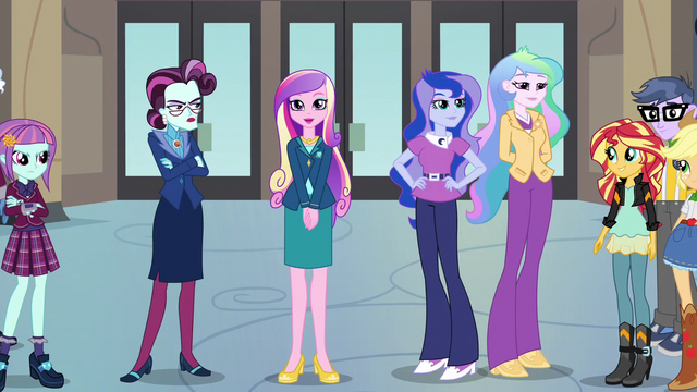 "File:Dean Cadance ""welcome to the first event"" EG3.png"