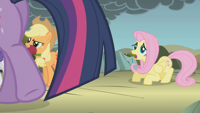 File:Fluttershy still very afraid S1E07.png