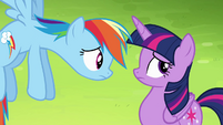 "Rainbow Dash ""what would you do?"" S4E10"