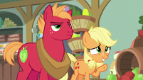 "Applejack ""a little short-hooved at the moment"" S6E23"