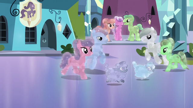 File:Happy Crystal Ponies 2 S3E2.png