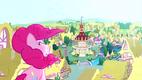 Pinkie Pie on Sugarcube Corner balcony S4E12