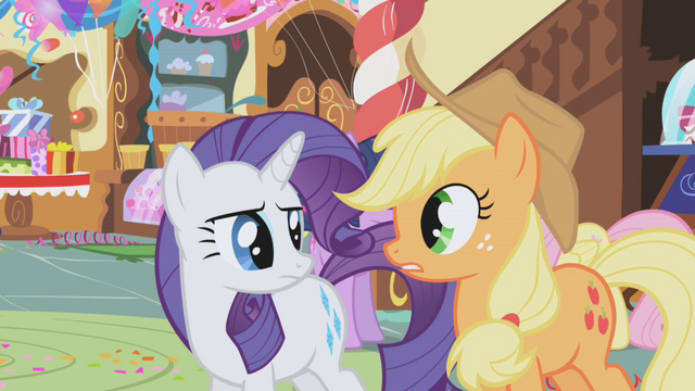 File:Rarity talking with Applejack S1E05.png
