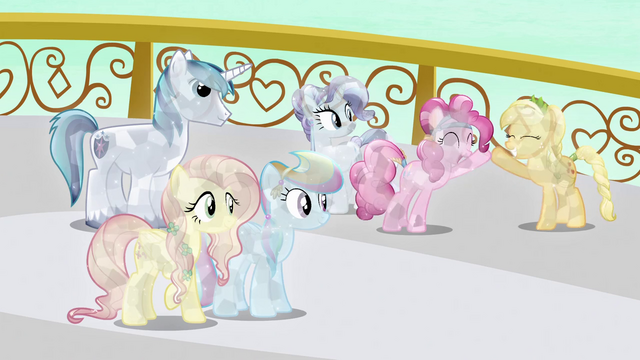 File:Crystal main ponies successful S3E2.png