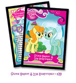 Golden Harvest and Lyra Heartstrings trading card