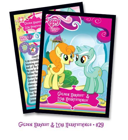 File:Golden Harvest and Lyra Heartstrings trading card.jpg