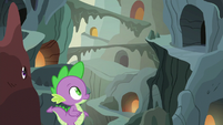 Spike enters a familiar crevasse S6E5