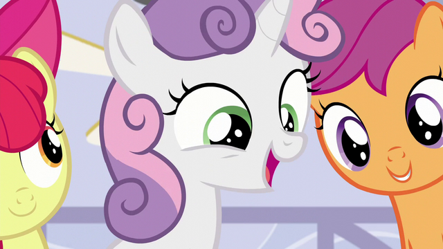 "File:Sweetie Belle ""or concerns or questions"" S6E4.png"