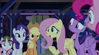 "Fluttershy ""I hope you learned your lesson"" S6E15"