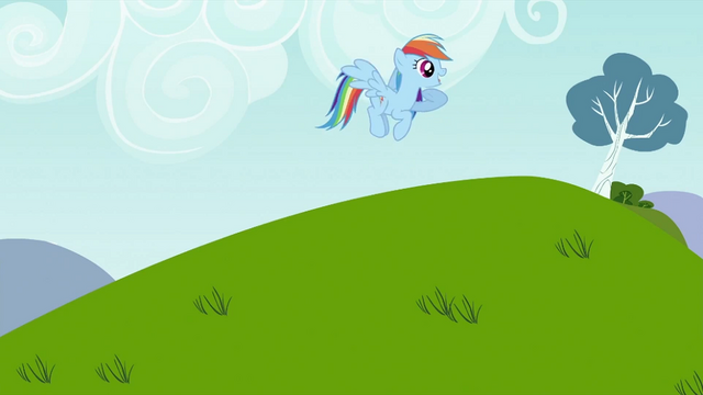 File:Rainbow Dash calling Tank S2E07.png
