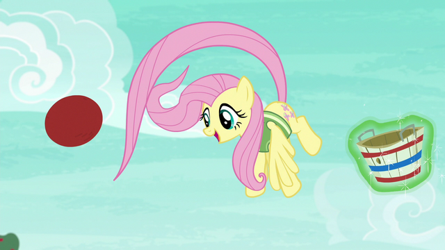 File:Fluttershy deflects the ball with her tail S6E18.png